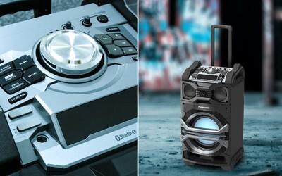 Co dokáže jeden reproduktor na kolečkách? Otestovali jsme Panasonic SC-CMAX5, obra s hlasitým zvukem, silnými basy a neobyčejným stylem
