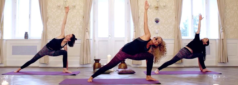 Čo dokáže spraviť joga s tvojím telom a mysľou? Druhý diel online cvičenia s Vierkou Ayisi ti to priblíži