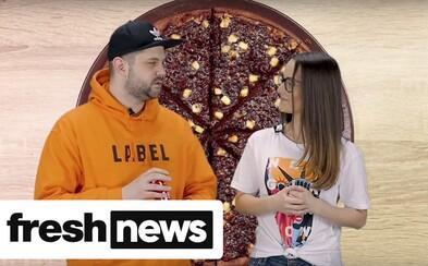 Čo hovorí na čokoládovú pizzu Joe Trendy? (Freshnews)