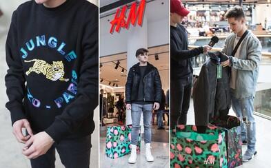 Čo mali oblečené ľudia na release kolekcie H&M x Kenzo?