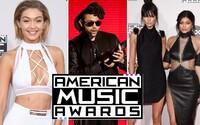 Co měly oblečené celebrity na udělování American Music Awards a kdo si odnesl nejvíc cen?