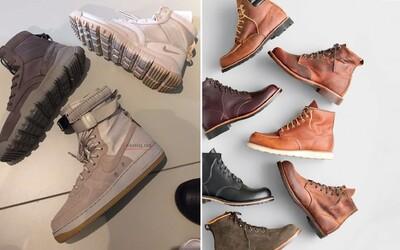 Co obout na zimu? Tenisky a boty do každého počasí