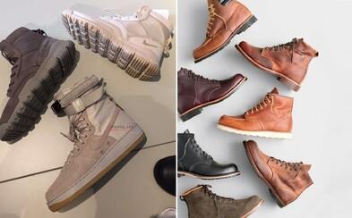 Čo obuť na zimu? Tenisky a topánky do každého počasia