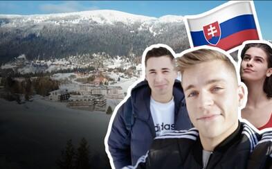 Čo sa dá na Slovensku robiť vzime? To sa dozvieš v našom prvom cestovateľskom vlogu