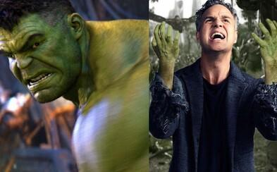 Čo sa v Infinity War dialo s Hulkom a aký má problém s Bannerom? Bojí sa skutočne výprasku od Thanosa?