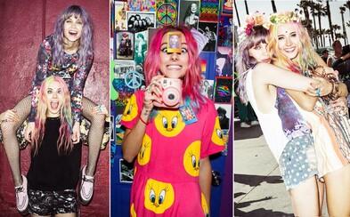Čo si obliecť na Grape? Sleduj psychadelic inšpiráciu od módnych blogeriek