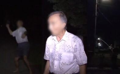Co jste tam dělal? Hovno! Opilý slovenský důchodce v noci kradl elektřinu, ale nešlo mu to podle představ