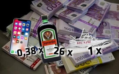 Čo všetko si kúpiš za slovenský dôchodok? 441 € vymeníš za pár Yeezys, 367 cheeseburgerov či desiatky fliaš alkoholu