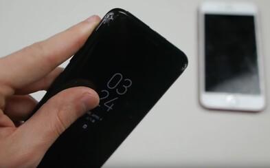 Co všechno udělá s prémiovým tělem Galaxy S8 tvrdý pád? V nelítostném drop testu se postavil tváří v tvář iPhonu 7