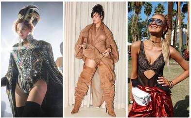 Coachella 2018: Odhalená prsa Rihanny, ale i outfity typické pro festivaly v podání známých osobností
