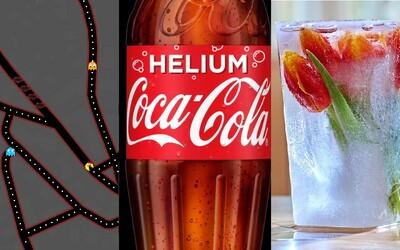 Coca-Cola s héliem, mražené květiny nebo posílání smajlíků namísto troubení. Letošní aprílové vtipy byly vynikající
