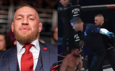 Conor McGregor drzo vysvetlil, prečo zaútočil na rozhodcu v MMA súboji, kde prišiel len ako divák. Nepáčilo sa mu, že si dával načas