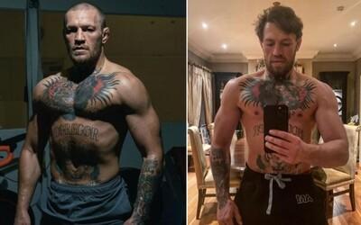 Conor McGregor je vo skvelej forme. Na Instagrame sa pochválil svojou premenou
