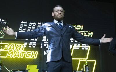 Conor McGregor ohlásil dátum návratu do oktagonu!