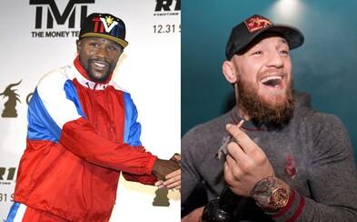 Conor McGregor se vysmál Mayweatherovi za vstup do MMA. Prý s protivníkem vypadají jako z Křižovatky smrti