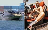 Conor McGregor se chlubí Lamborghini jachtou za 80 milionů korun. Na světě jich je jen 63