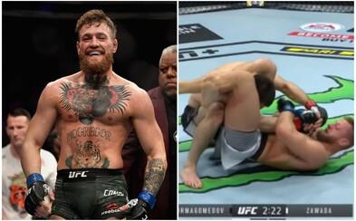 Conor McGregor se vysmál bratranci Khabiba Nurmagomedova. V prvním UFC zápase rychle prohrál