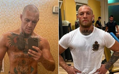 Conor McGregor si vyholil hlavu. Chystá další velkolepý návrat do UFC?