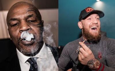 Conor McGregor si zafajčil marihuanu s legendárnym Mikom Tysonom. Vyriešili si pri nej aj konflikt z minulosti