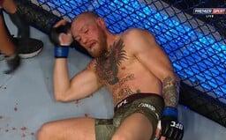 Conor McGregor tvrdě prohrává v druhém kole! Stane se Dustin Poirier králem lehké váhy?