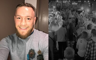 Conorovi McGregorovi vyhrožoval smrtí irský kartel, protože se zapletl do barové rvačky. Chtěli od něj 900 tisíc eur jako náhradu škody