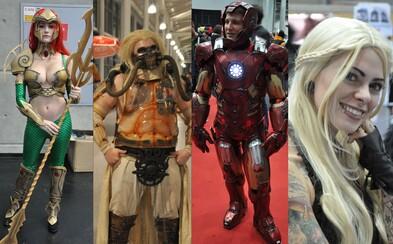 Cosplayeři z vídeňského Comic Conu v mnohém překonali i ty americké