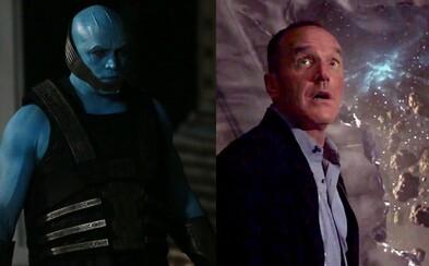 Coulson a ostatní členovia tímu sa v traileri pre piatu sériu Agents of S.H.I.E.L.D. stávajú lovnou zverou nielen pre rasu Kree