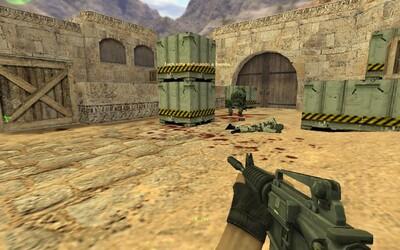 Counter-Strike slaví 20. narozeniny! Zahrát si můžeš i retro verzi legendární mapy Dust2