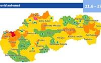 Covid automat: od pondelka bude opäť nové rozdelenie okresov. Takéto pravidlá v nich budú platiť