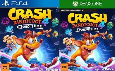 Crash Bandicoot 4: It's About Time predčasne odhalený. Hra by mala vyjsť ešte tento rok