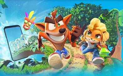 Crash Bandicoot mieri na mobily. Zábavný trailer odhaľuje hru, pri ktorej na záchode presedíš celé hodiny