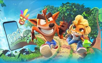 Crash Bandicoot míří na mobily. Zábavný trailer odhaluje hru, u které na záchodě prosedíš celé hodiny