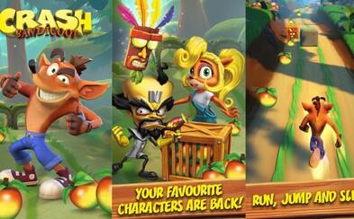 Crash Bandicoot se dostane na smartphony. Mobilní hra nabídne vše, co milujeme na prvních dílech