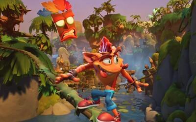 Crash Bandicoot sa vracia! Štvrtý diel odhaľuje modernú grafiku a levely, ale aj návrat nostalgickej hrateľnosti