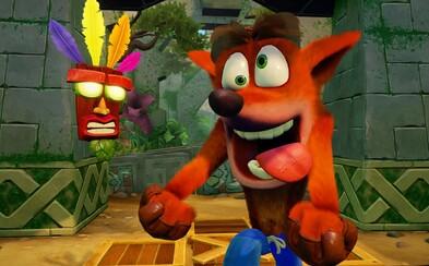 Crash Bandicoot údajně dostane nové pokračování. Hrát budeš moci i za Coco, titul se ponese ve stylu původní trilogie