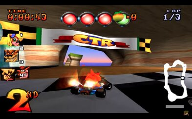 Crash Team Racing nejspíš dostane remaster!