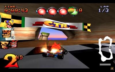 Crash Team Racing pravdepodobne dostane remaster