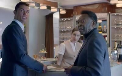 Cristiano Ronaldo a Pelé v jednej reklame, MS v Brazílii sa blížia!