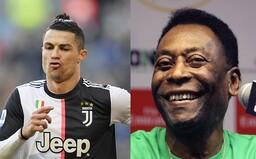 Cristiano Ronaldo je nejlepší na světě, ale já jsem nejlepší v historii. Pelé nepovažuje Messiho za útočníka