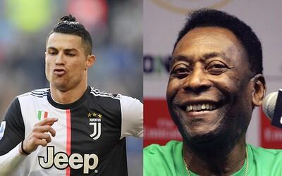 Cristiano Ronaldo je najlepší na svete, ale ja som najlepší v histórii. Pelé nepovažuje Messiho za útočníka