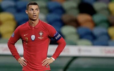 Cristiano Ronaldo je pozitivní na koronavirus