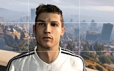 Cristiano Ronaldo ožívá v Los Santos! Strip bary, zběsilá jízda a triky provází jeho pobyt v GTA V
