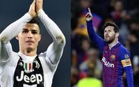 Cristiano Ronaldo s Juventusom vypadávajú z Ligy majstrov. Lionel Messi pochoval Manchester United