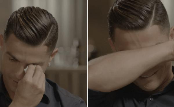 Cristiano Ronaldo sa rozplakal, keď mu ukázali video jeho otca rok pred tým, ako zomrel na následky alkoholizmu