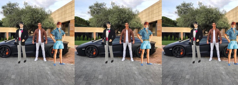 Cristiano Ronaldo sa stal obeťou internetových vtipkárov po tom, čo na Instagram pridal fotku so svojím autom