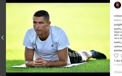 Cristiano Ronaldo se urazil, že nevyhrál hráče roku podle UEFA. Když se pořadí dozvěděl dopředu, zrušil let