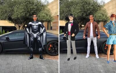Cristiano Ronaldo se stal obětí internetových vtipálků poté, co na Instagram přidal fotku se svým autem