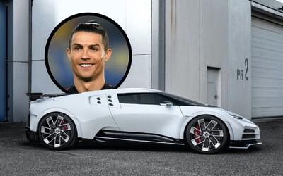 Cristiano Ronaldo si koupil Bugatti za 217 milionů korun, které vznikne jen v 10 kusech