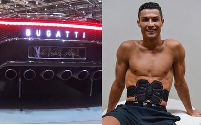 Cristiano Ronaldo si vraj kúpil najdrahšie auto histórie. Za exkluzívne Bugatti zaplatil milióny