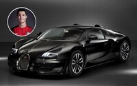 Cristiano Ronaldo ukázal svoji novou hračku. Radost mu bude nyní dělat 1200koňový Veyron